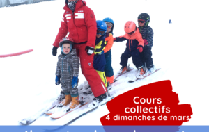 Cours Collectifs week end de Mars 2021